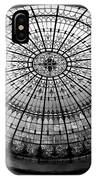 Stained Glass Dome - Bw IPhone Case