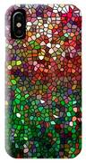 Stained Glass  Fall Reflected In The Still Waters IPhone Case