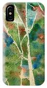 Stained Glass Forest In Spring IPhone Case