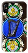 Stained Glass Harp IPhone Case