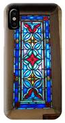 Stained Glass In Redeemer Lutheran IPhone Case