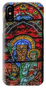 Stained Glass Of Chartres IPhone Case