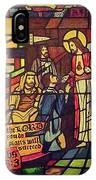 Stained Glass Proverbs 16 Verse 3 IPhone Case