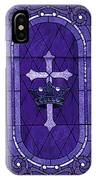 Stained Glass - Purple IPhone Case
