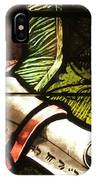 Stained Glass Scroll IPhone Case