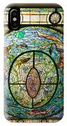 Stained Glass Skylight In Fordyce Bathhouse IPhone Case