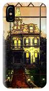 Stained Glass Template Victorian Twilight IPhone Case