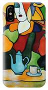 Stained Glass V IPhone Case