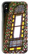 Stained Glass Window In Saint Sophia's In Istanbul-turkey  IPhone Case