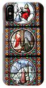 Stained Glass Window Iv IPhone Case