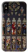 Stained Glass Window The Huntington Library IPhone Case