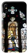 Stained Glass Window V IPhone Case