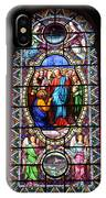 Stained Glass Window Viii IPhone Case
