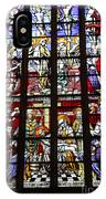 Stained Glass Window Xi IPhone Case