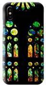 Stained Glass Windows - Sagrada Familia Barcelona Spain IPhone Case