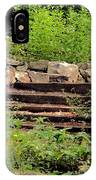 Staircase In The Forest IPhone Case
