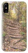 Stairs Into The Forest IPhone Case