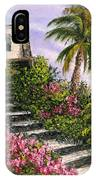 Stairway Garden IPhone Case
