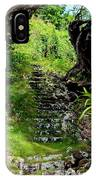 Stairway Through The Forest IPhone Case