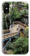 Stairway To Chimney Rock IPhone Case