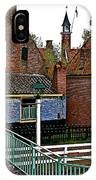 Stairway To Enkhuizen From The Dike-netherlands IPhone Case