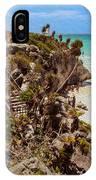 Stairway To The Tulum Beach  IPhone Case