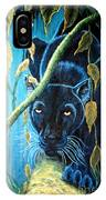 Stalking Black Panther IPhone Case