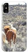 Stampede Of Wild Horses IPhone Case