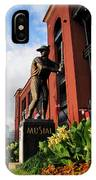 Stan Musial Statue IPhone Case
