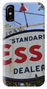 Standard Esso Dealer IPhone Case