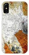 Standard Poodle Puppy Dozing Off IPhone Case