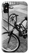 Standing Lying Down IPhone Case