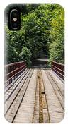 Standing On A Bridge IPhone X Case