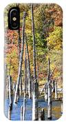 Standing Timbers At Merrill Creek IPhone Case