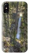 Stanley Falls At Beauty Creek IPhone Case