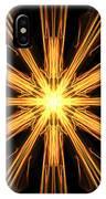 Star Burst IPhone Case