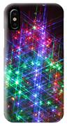 Star Like Christmas Lights IPhone Case