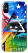Star Of David. Symbol Of Immortal Nation IPhone Case