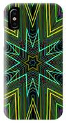 Star Of Threads IPhone Case
