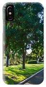 Star Over The Mausoleum - Henry And Arabella Huntington Overlooks The Gardens. IPhone Case