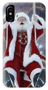 Santa's Star Swing IPhone Case