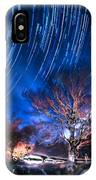 Star Trails On Acid IPhone Case