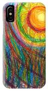 Starburst - The Nebular Dawning Of A New Myth And A New Age IPhone Case
