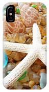 Starfish Art Prints Shells Agates Coastal Beach IPhone Case