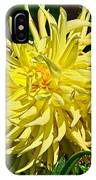 Starlite Dahlia IPhone Case