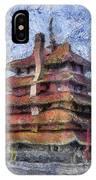 Starry Starry Pagoda Night IPhone Case