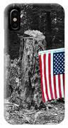 Stars And Stripes With Selective Color IPhone Case
