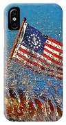 Stars And Strips At Lake Tahoe IPhone Case