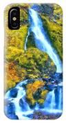 Starvation Creek Falls IPhone Case