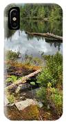 Starvation Lake Reflections IPhone Case